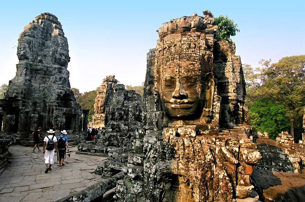 Sunrise over Angor Wat, Cambodia